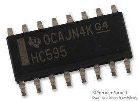 Texas Instruments SN74HC595DR | Element14